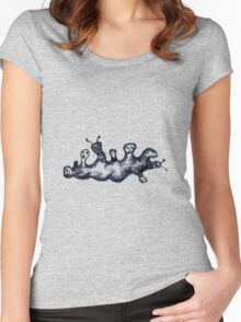 Alien Family 2 Women's Fitted Scoop T-Shirt