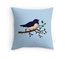 A little birdie told me Throw Pillow