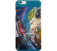 Caught Out On A Windy Day Section 2 by Heather Holland iPhone Case/Skin