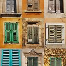 Nine Shuttered Windows  by jojobob