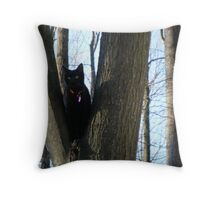 What is that in the tree? Throw Pillow