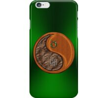Taurus & Rabbit Yin Wood iPhone Case/Skin