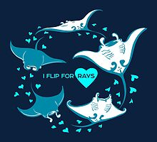 Love Manta - I Flip for Rays by PepomintNarwhal