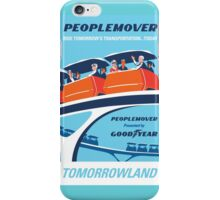 Peoplemover Attraction Poster iPhone Case/Skin