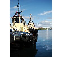 Halifax Tugs Photographic Print