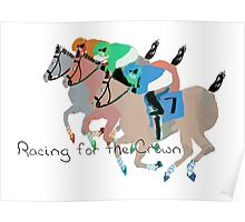 Racing for the Crown Poster