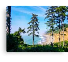 Agate Beach, Patricks Point State Park, Humboldt County, California, USA Canvas Print