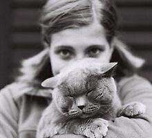 The Fluffyman With Princess by Katka Simcikova