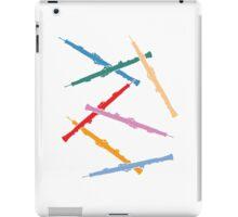 Colorful Oboes iPad Case/Skin