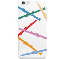 Colorful Oboes iPhone Case/Skin