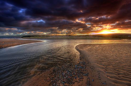 The River at Sunrise by EvaMcDermott