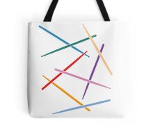 Colorful Drum Sticks Tote Bag