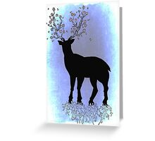 Earth Deer Greeting Card
