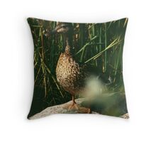 Just Ducky Darling Throw Pillow