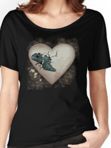 Love Sea Turtles - Egg Heart Women's Relaxed Fit T-Shirt