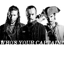Who's Your Captain? by 221bree