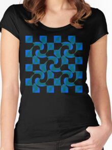 chess 3 Women's Fitted Scoop T-Shirt