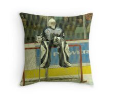 A Hockey Game Broke Out Throw Pillow