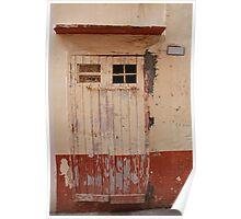 Old Door in Gallipoli  Poster