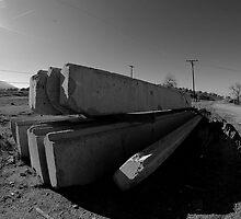 concrete slabs by Lucas Hasserjian