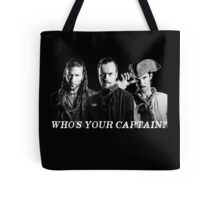 Who's Your Captain? Tote Bag