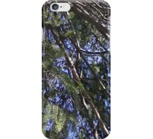 Windy Day - The Blue & The Green 006 iPhone Case/Skin