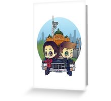 Winchesters in Melbourne Greeting Card