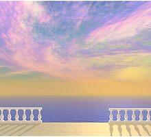 Veranda View by Ellen McDonough