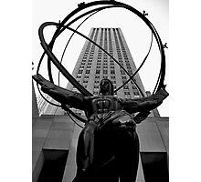 Atlas, Rockefeller Center, New York City Photographic Print