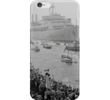 Canberra returns to UK from Falklands War iPhone Case/Skin