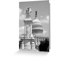 US Capitol Building, Washington DC Greeting Card