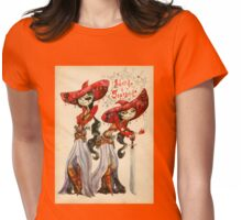 Adelita and Scardelita Womens Fitted T-Shirt