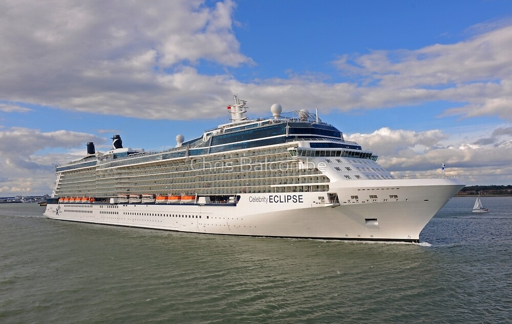 QuotCelebrity Eclipse Cruise Shipquot By ChrisBalcombe  Redbubble