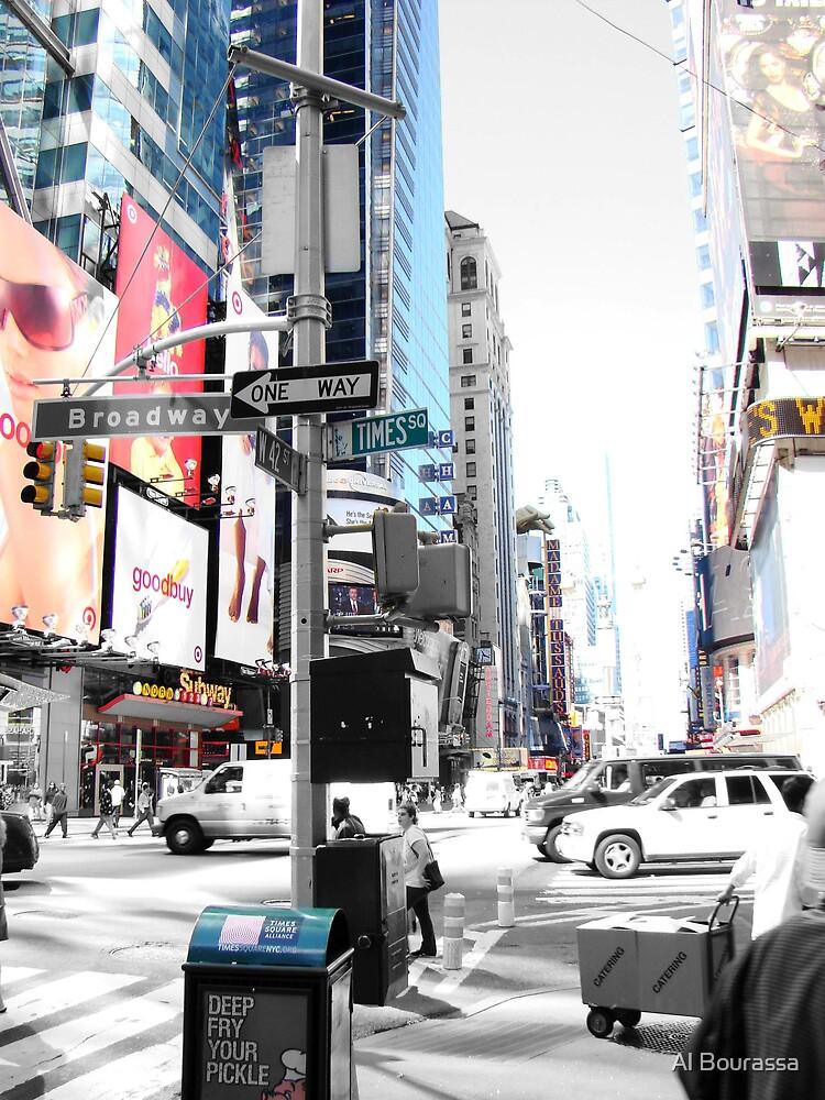 Times Square by Al Bourassa