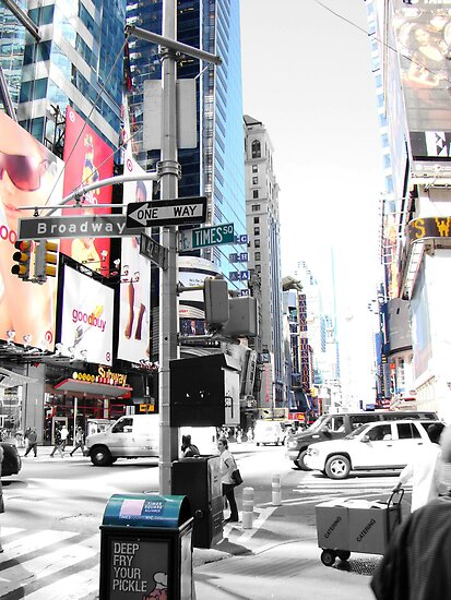 Times Square by Al Bourassa