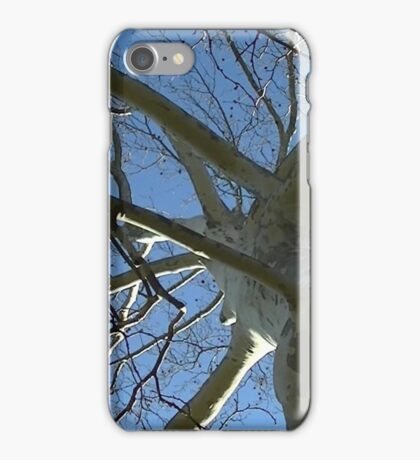Windy Day - The Blue & The Green 035 iPhone Case/Skin
