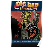 Hellboy/Big Trouble in Little China Mashup Poster