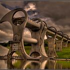 Falkirk Wheel by dittohead