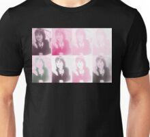 Goruo Pink Yukiko Okada Collage Unisex T-Shirt