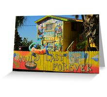 Motel In Paradise ~ Part One Greeting Card