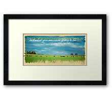 Finding Peace Within © Vicki Ferrari Photography Framed Print