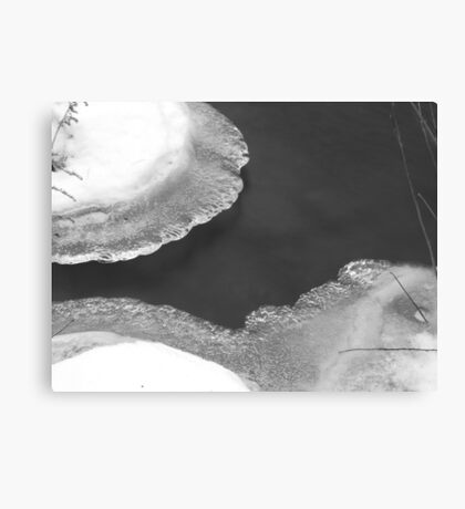 Water: Soft and Hard Canvas Print