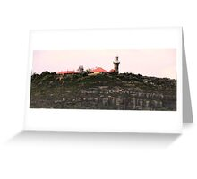 Barrenjoey Lighthouse - Sydney Beaches - Palm Beach - The HDR Series - Sydney Australia Greeting Card