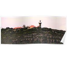 Barrenjoey Lighthouse - Sydney Beaches - Palm Beach - The HDR Series - Sydney Australia Poster