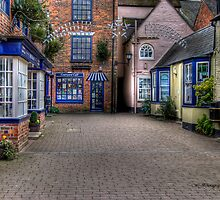 Quaint Alley by WJPhotography