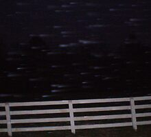Snow Flurries Among The Fields by MaryHelen