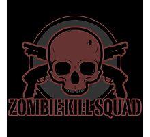 Zombie Kill Squad Photographic Print
