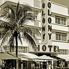 South Beach Art Deco Hotel, Miami Beach by Jaymes Williams
