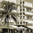 South Beach Art Deco Hotel, Miami Beach by Jaymes Williams