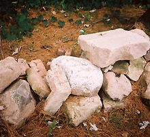 Foundation Blocks Still Sturdy by Bea Godbee